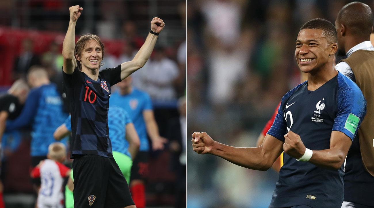 Croatia will play France in the World Cup final