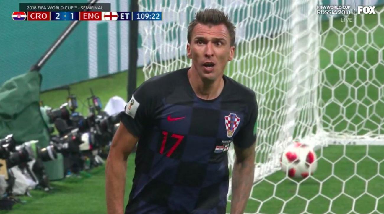 mandzukic goal croatia england goal