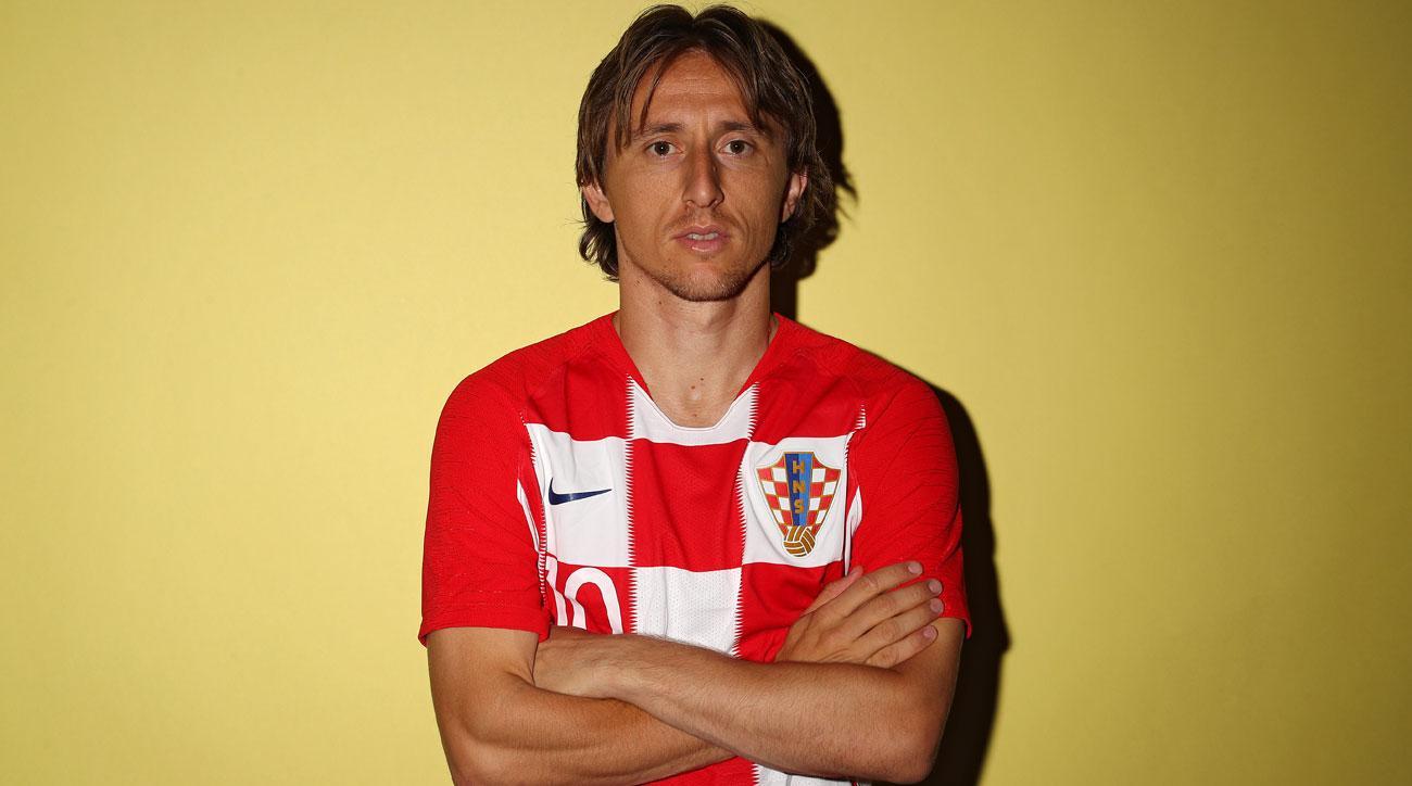 Luka Modric has helped lead Croatia to the World Cup final