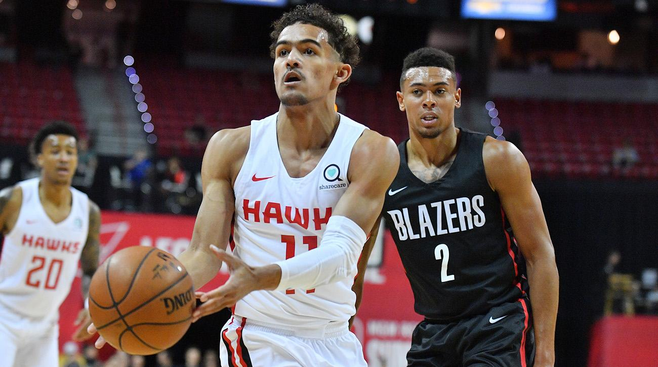 2018 NBA Summer League - Las Vegas - Atlanta Hawks v Portland Trail Blazers