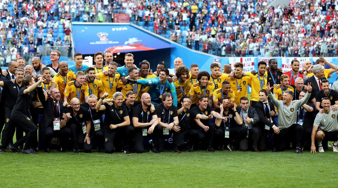 Belgium beats England to win third place at the World Cup