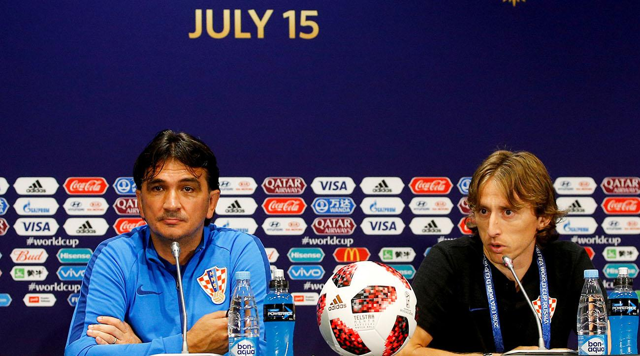 Croatia Press Conference : Final - 2018 FIFA World Cup