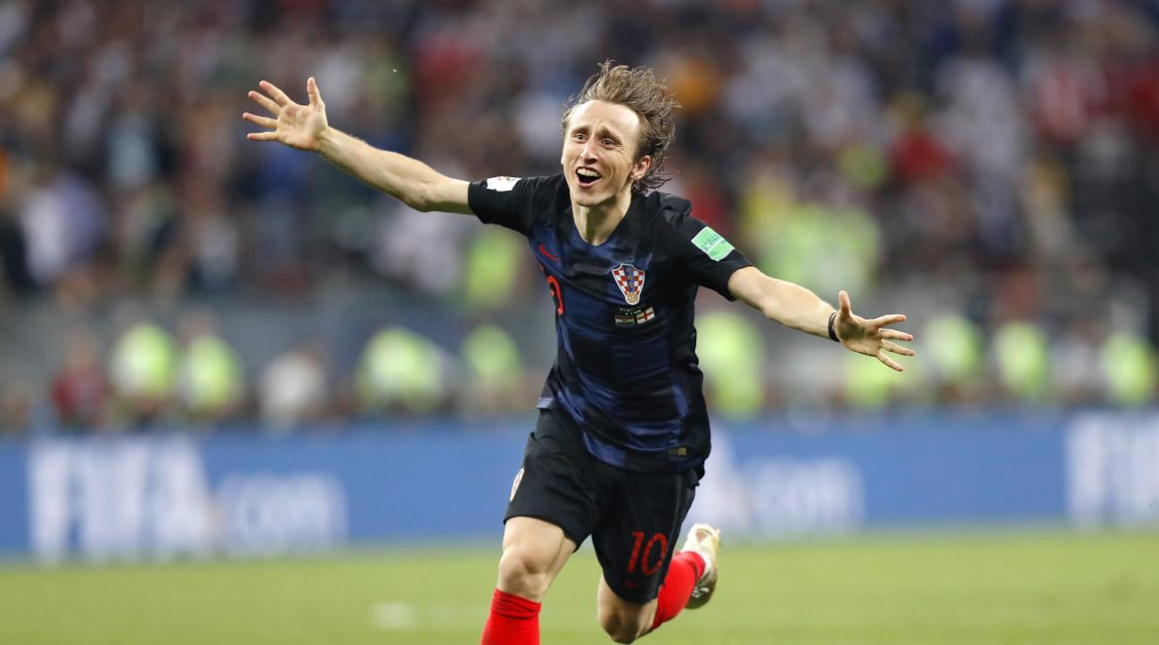 c1569ae36 World Cup Golden Ball  Luka Modric named World Cup best player