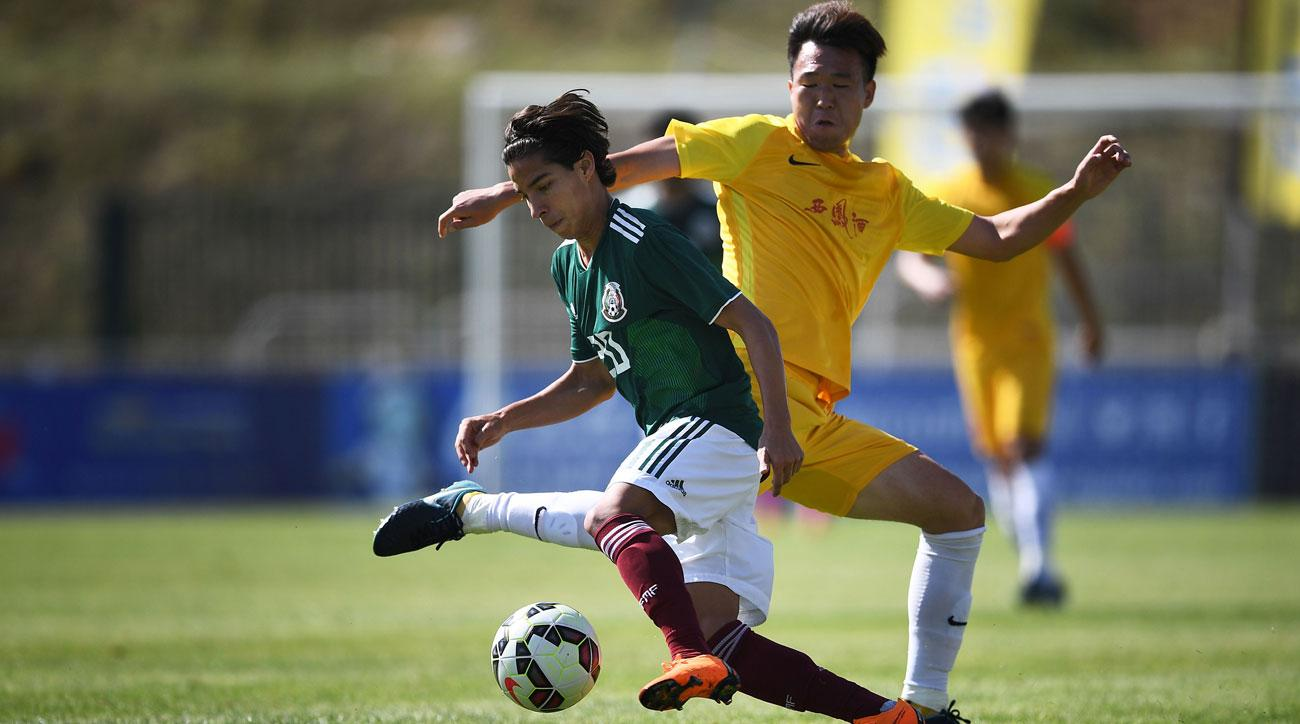Diego Lainez is a rising star for Mexico