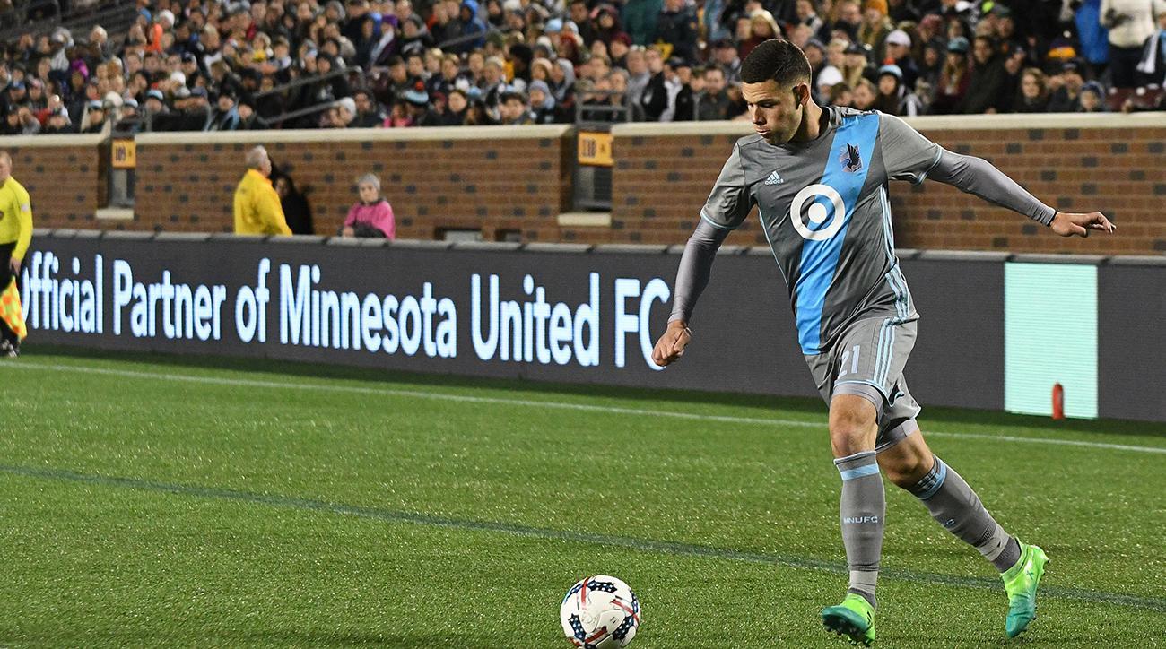 SOCCER: APR 29 MLS - San Jose Earthquakes at Minnesota United FC