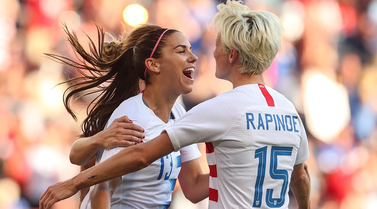 22723b9cade Alex Morgan s Hat Trick Leads USA Past Japan in Tournament of Nations