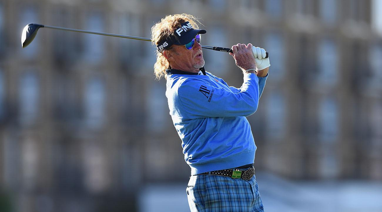 senior british open  jimenez leads by 2 after 3rd round