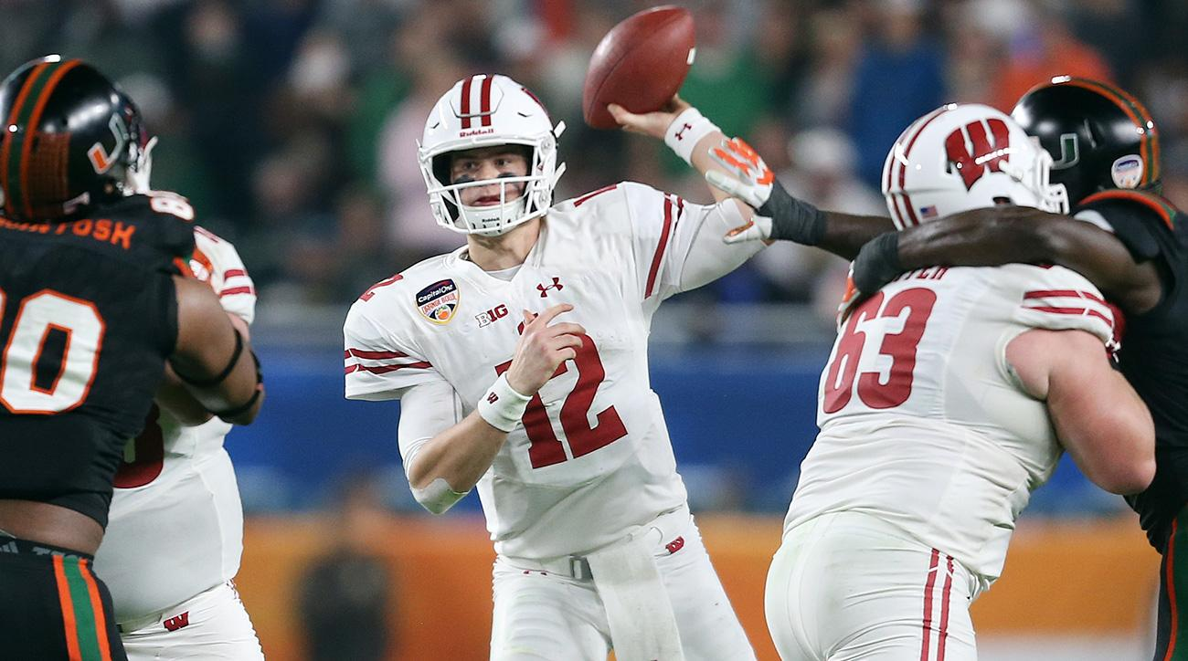 Alex Hornibrook: Wisconsin quarterback leads Badgers offense into Big Ten title contention