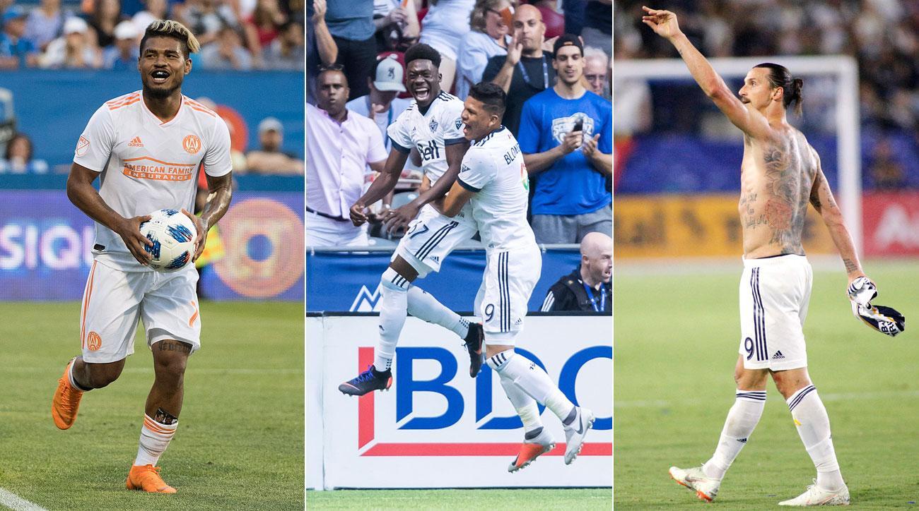 Josef Martinez, Alphonso Davies and Zlatan Ibrahimovic starred in MLS Week 22