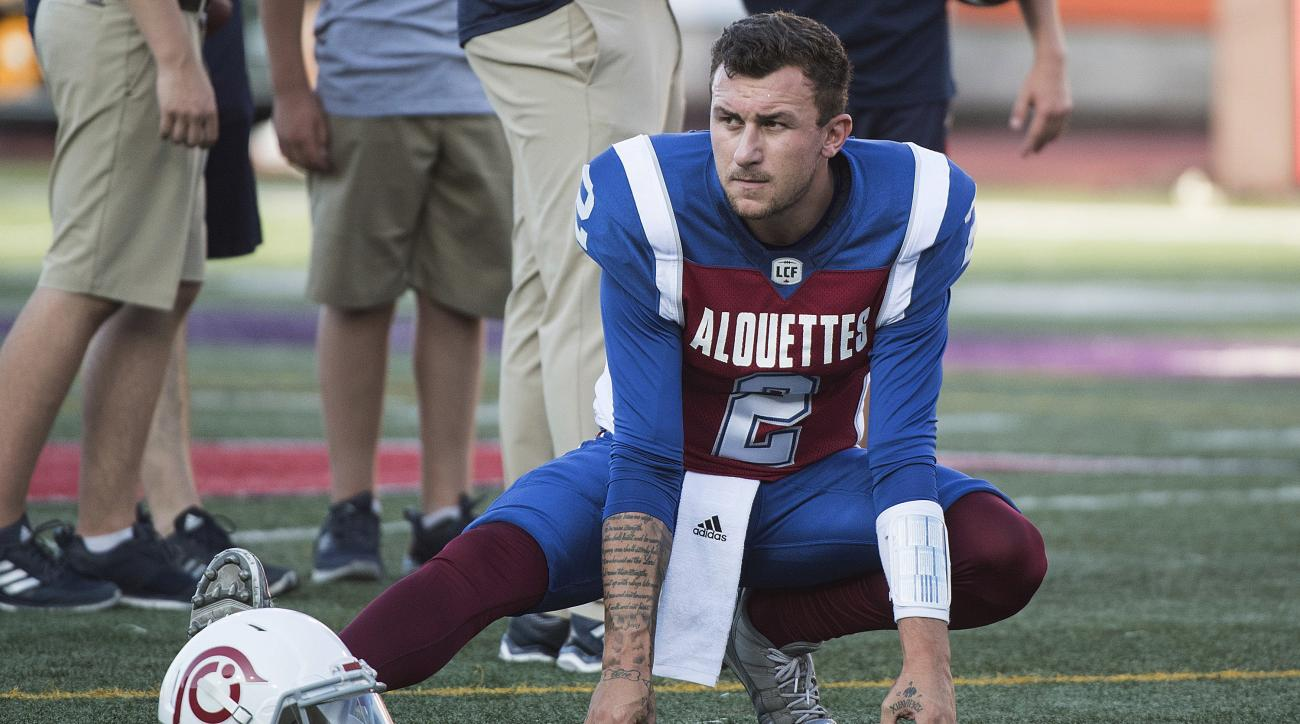 Johnny Manziel to Start for Montreal Alouettes on Friday