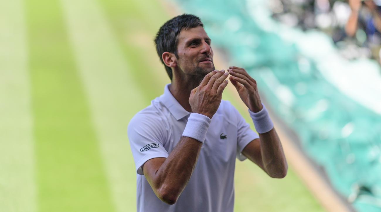 Novak Djokovic Wimbledon 2018 Kevin Anderson