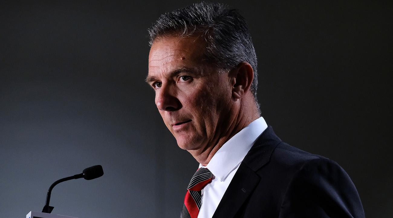 Urban Meyer on paid leave: Ohio State investigating coach's core values
