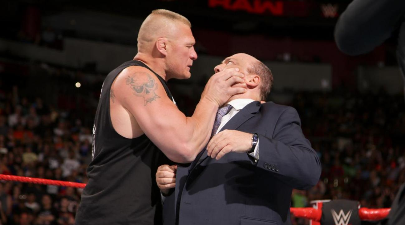 WWE wrestling news: Brock Lesnar splits with Paul Heyman