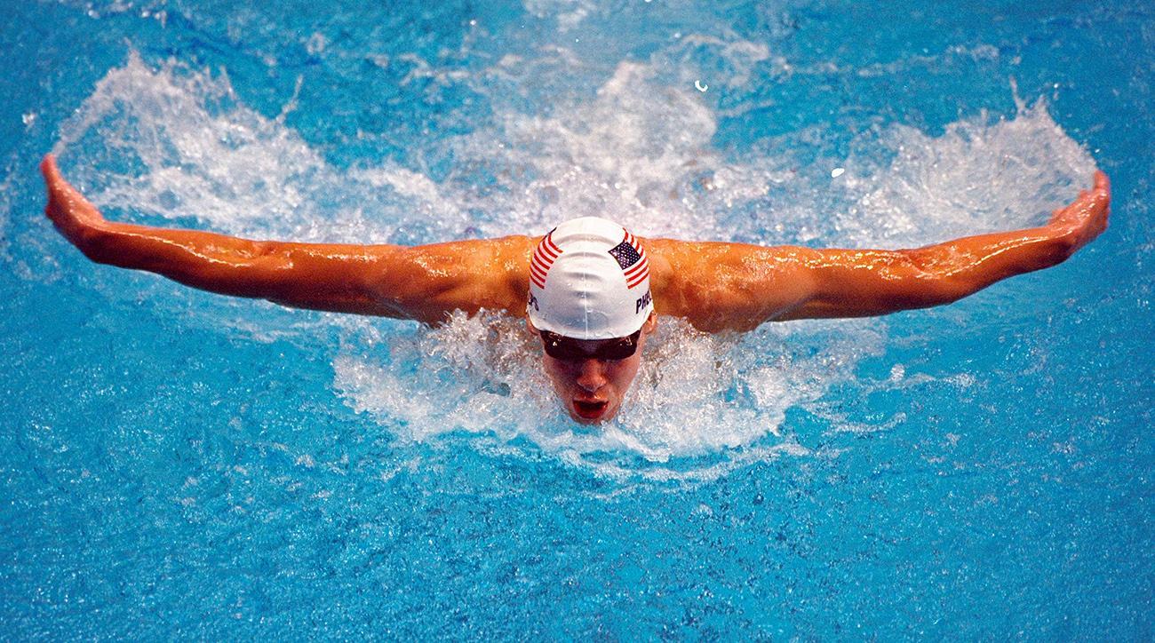 clark kent apuda, superman swimmer, michael phelps, michael phelps record, clark kent apuda record