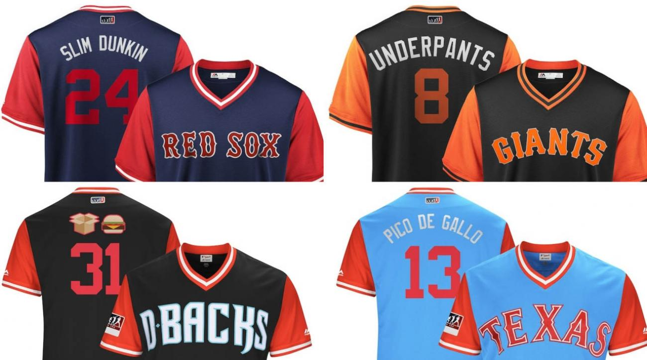 84748dfdf MLB players weekend  Best jersey nicknames (full list)