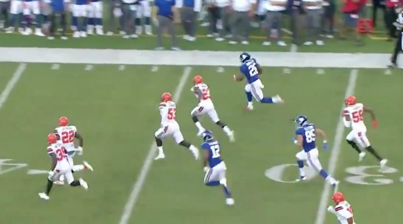 See Baker Mayfield's first touchdown pass with Browns