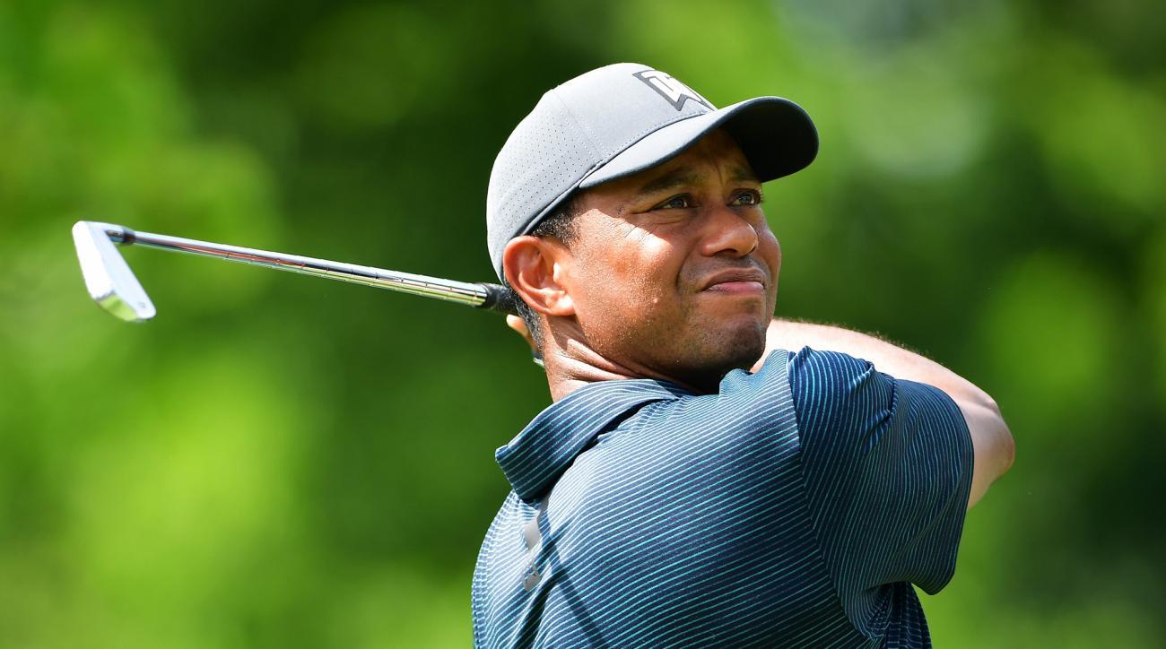 Tiger Woods thursday round recap bellerive