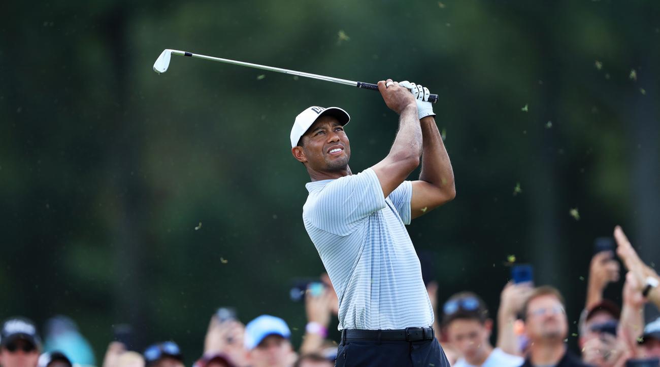 Tiger Woods friday bellerive pga championship