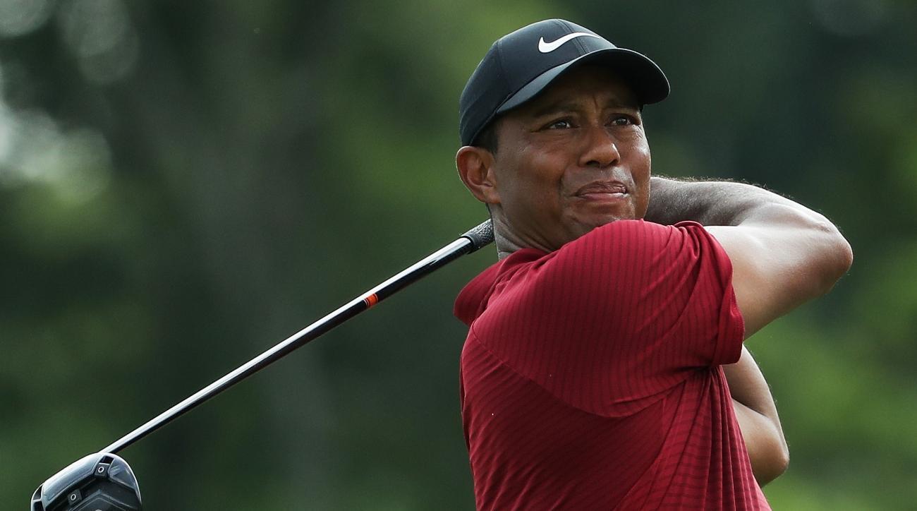 Tiger Woods sunday pga championship bellerive