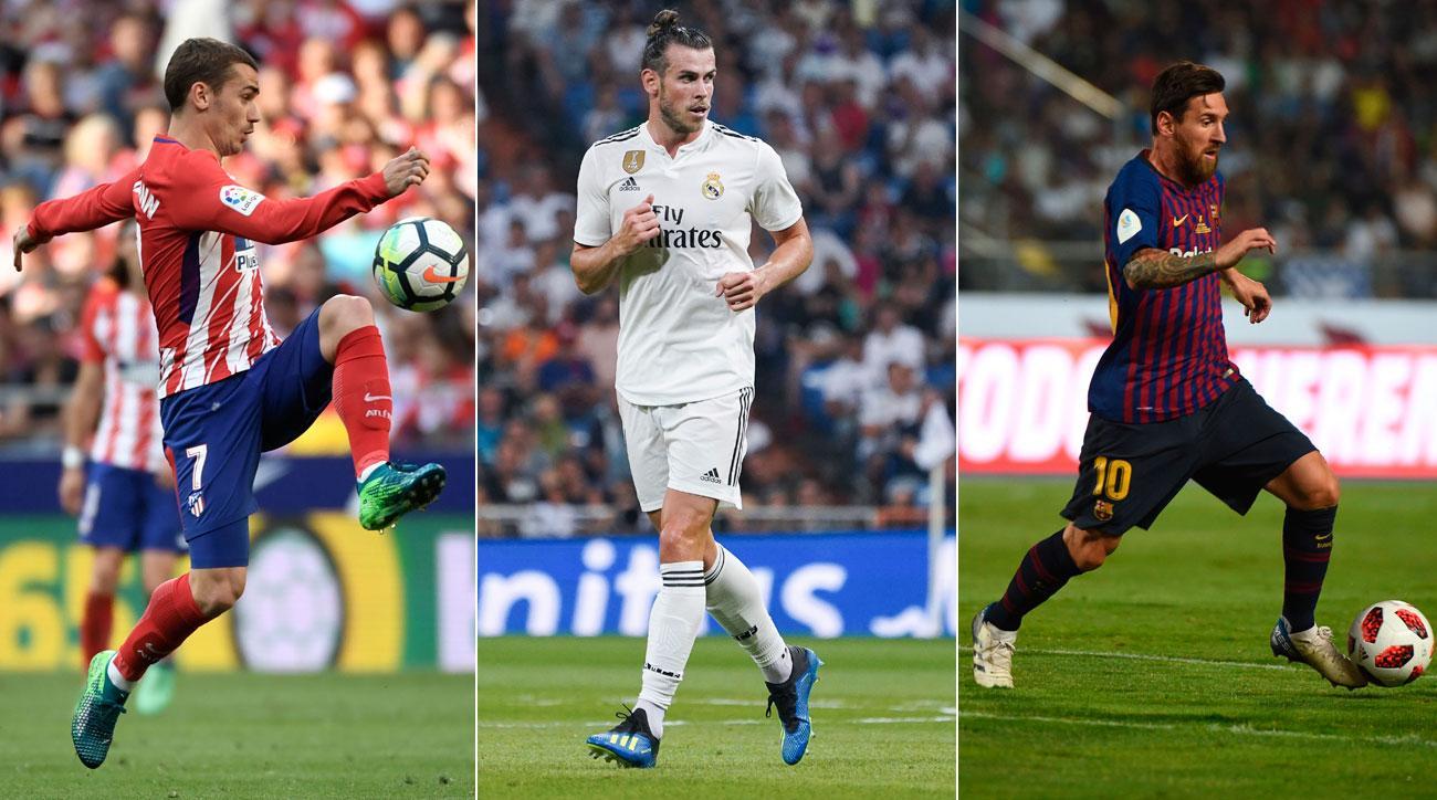 afa3e92d961d Ronaldo-Less Real Madrid, Atletico Seek to Dethrone Barcelona in La Liga