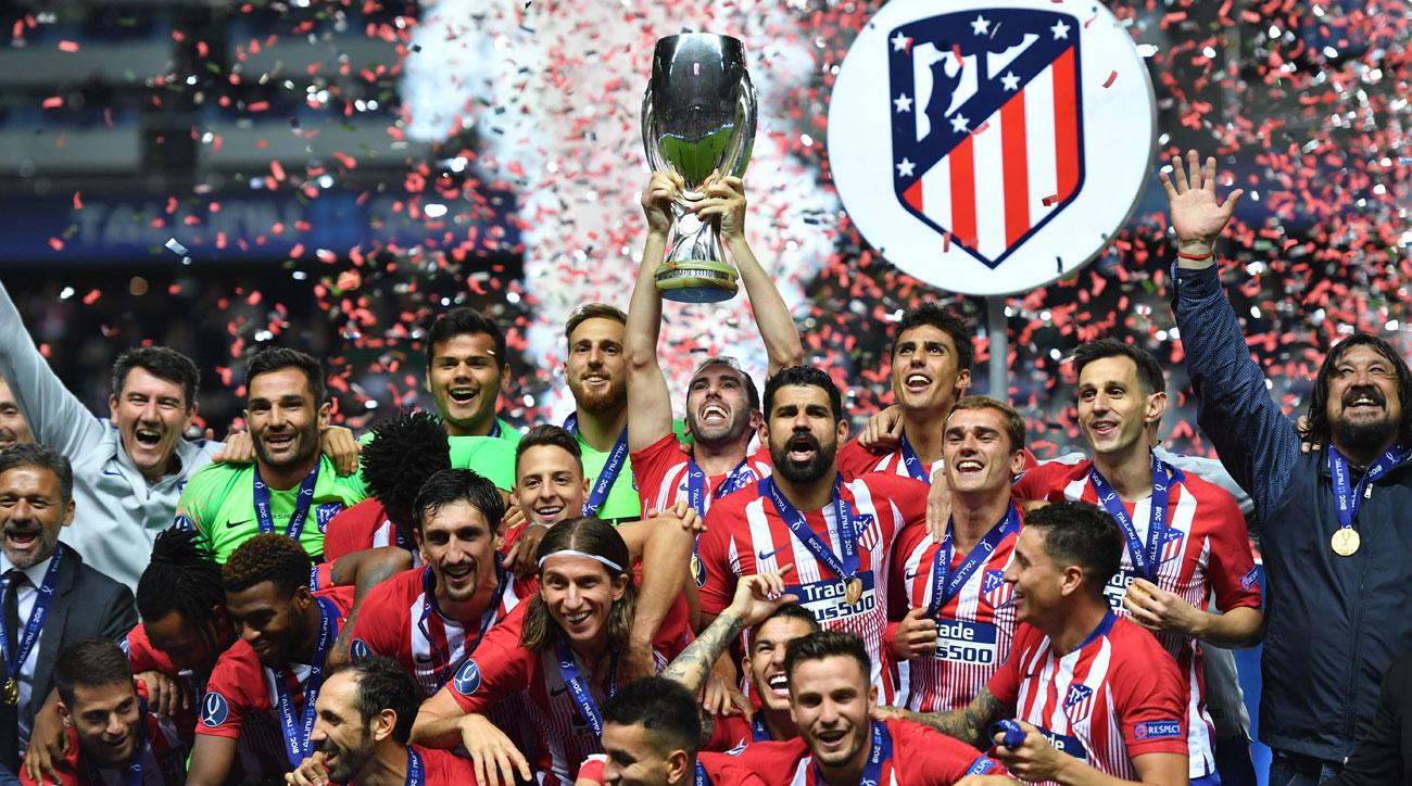 Atletico Madrid beats Real Madrid to win the UEFA Super Cup