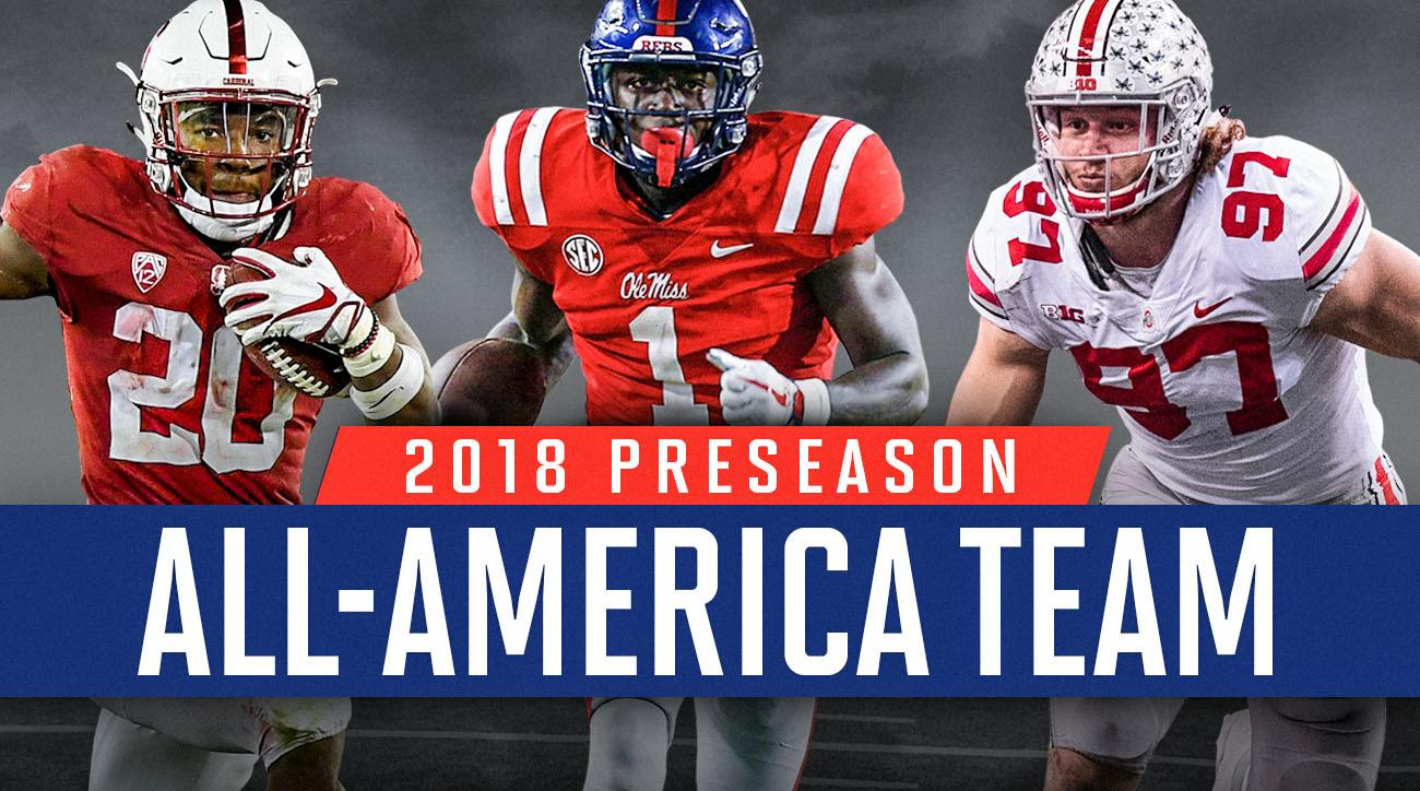 2018 college football preseason All-America teams: Bryce Love, Nick Bosa, A.J. Brown
