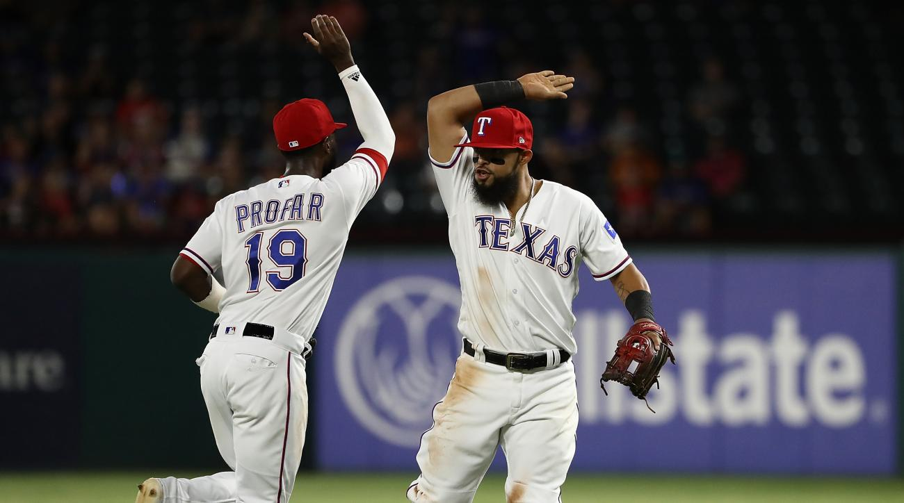 Rangers turn rare triple play vs. Angels not seen in 106 years