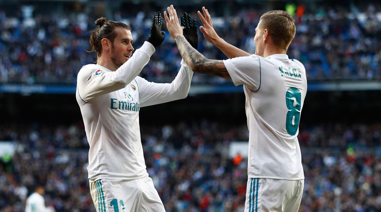 Gareth Bale and Toni Kroos lead Real Madrid into the 2018-19 season
