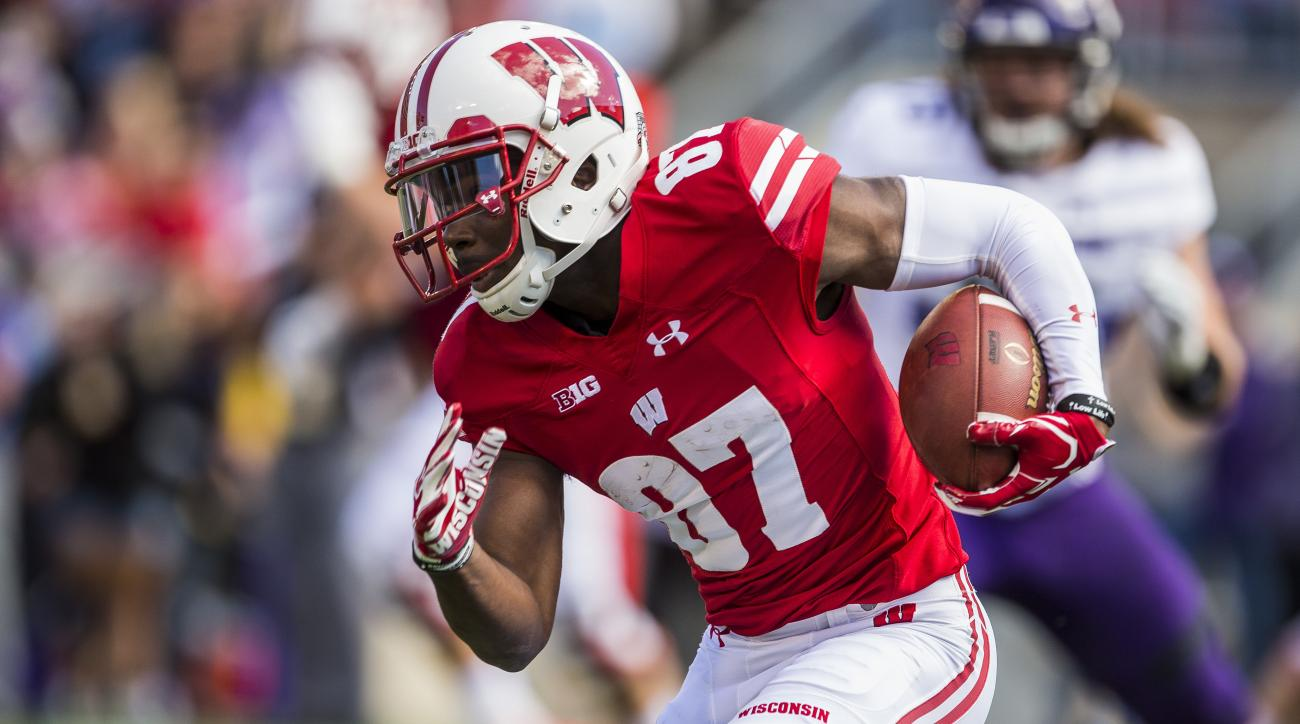 Wisconsin's top wide receiver takes leave to deal with unspecified legal issue