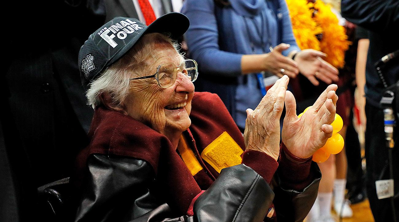 Loyola-Chicago Sister Jean