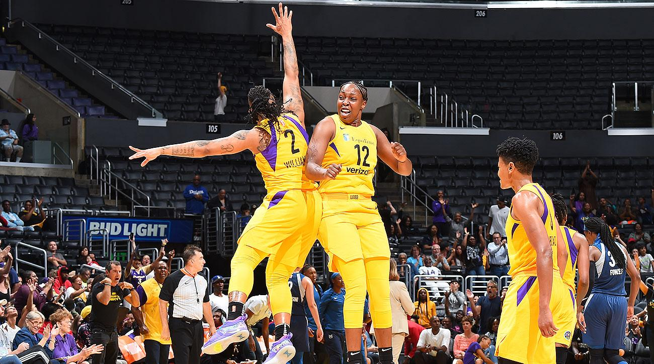 Los Angeles Sparks Chelsea Gray