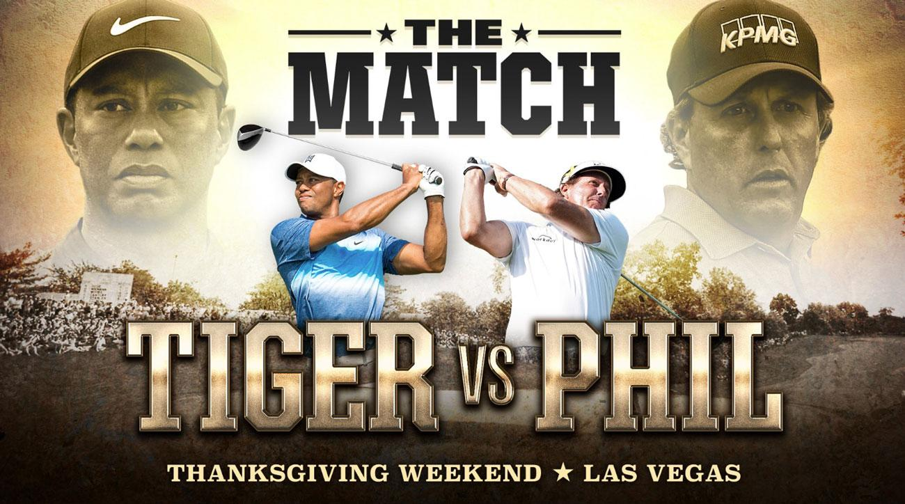 """The Match"" Tiger Woods vs Phil Mickelson Predictions"