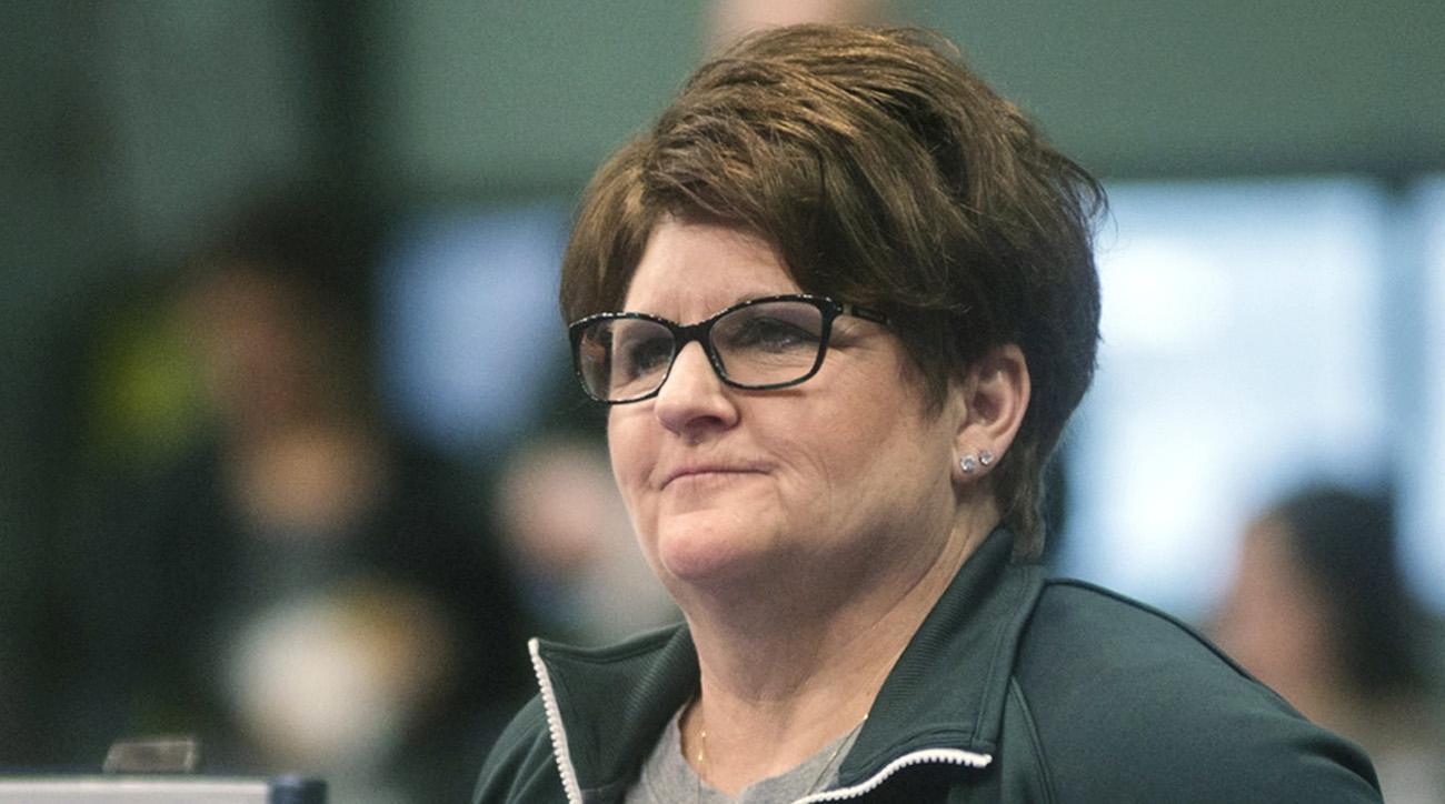 Kathie Klages, michigan state, Larry Nassar, larry nassar abuse scandal