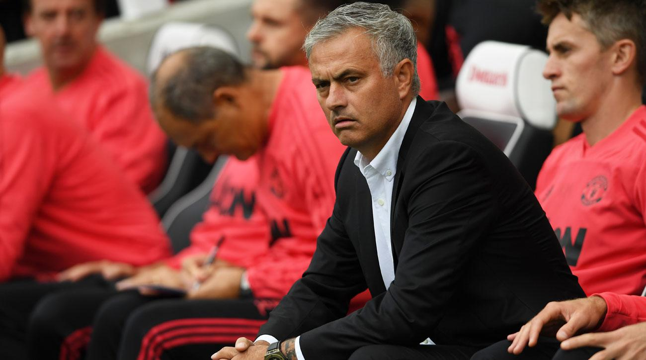 Jose Mourinho and Manchester United are off to a rocky start to the season