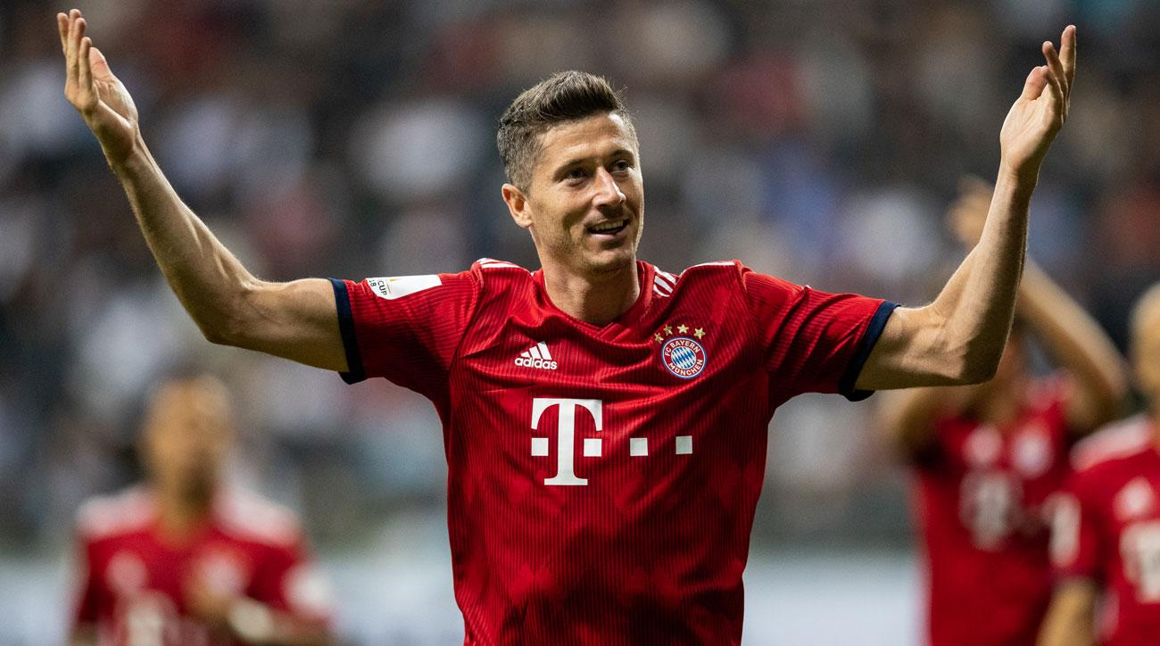 Image result for robert lewandowski bayern
