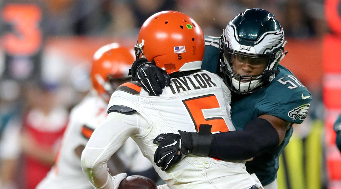 NFL: AUG 23 Preseason - Eagles at Browns