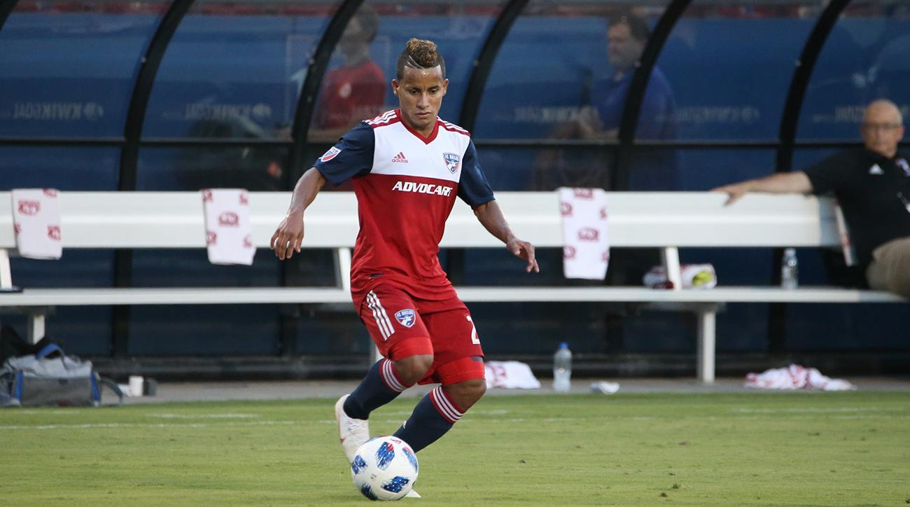SOCCER: JUL 14 MLS - Chicago Fire at FC Dallas