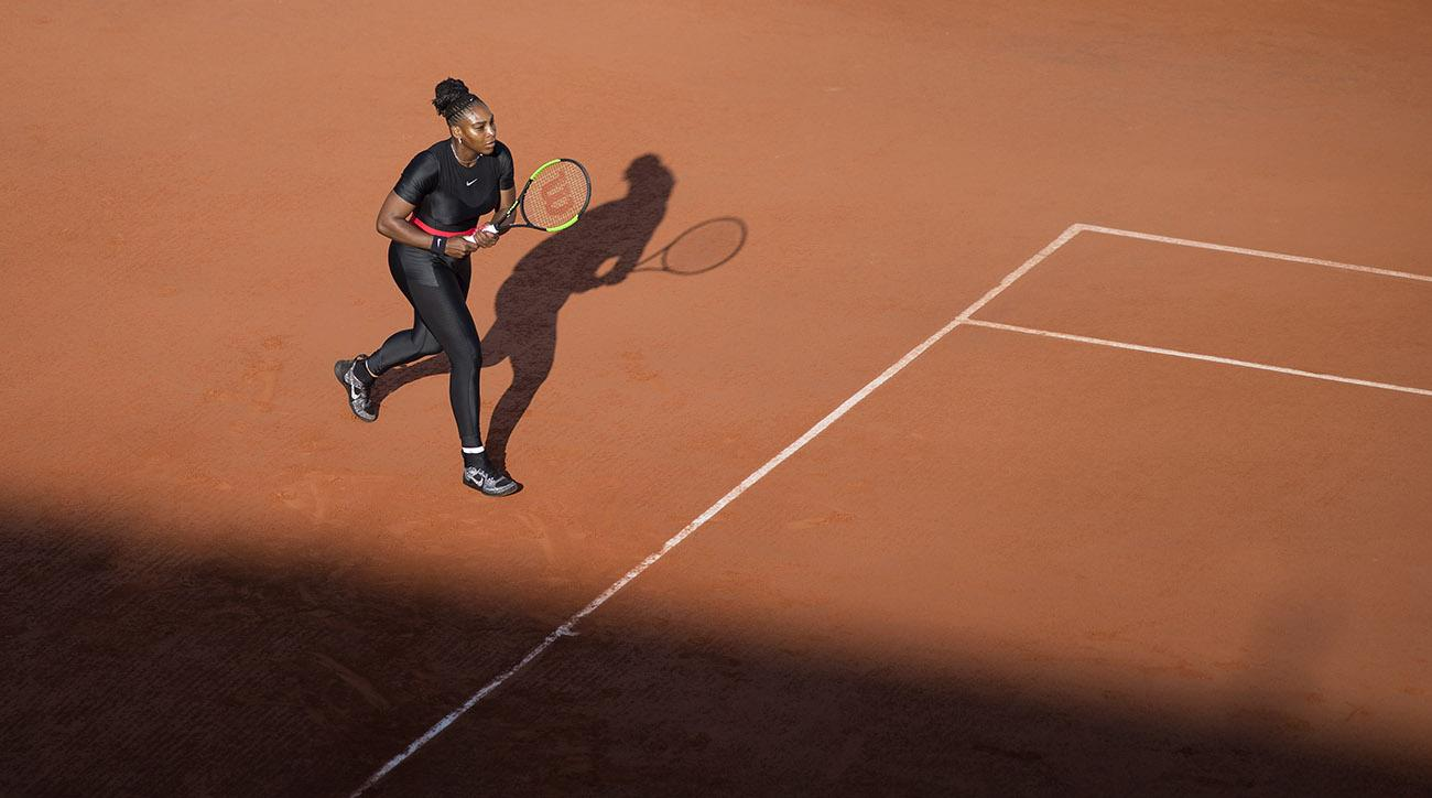 Serena Williams banned from wearing catsuit at French Open in future