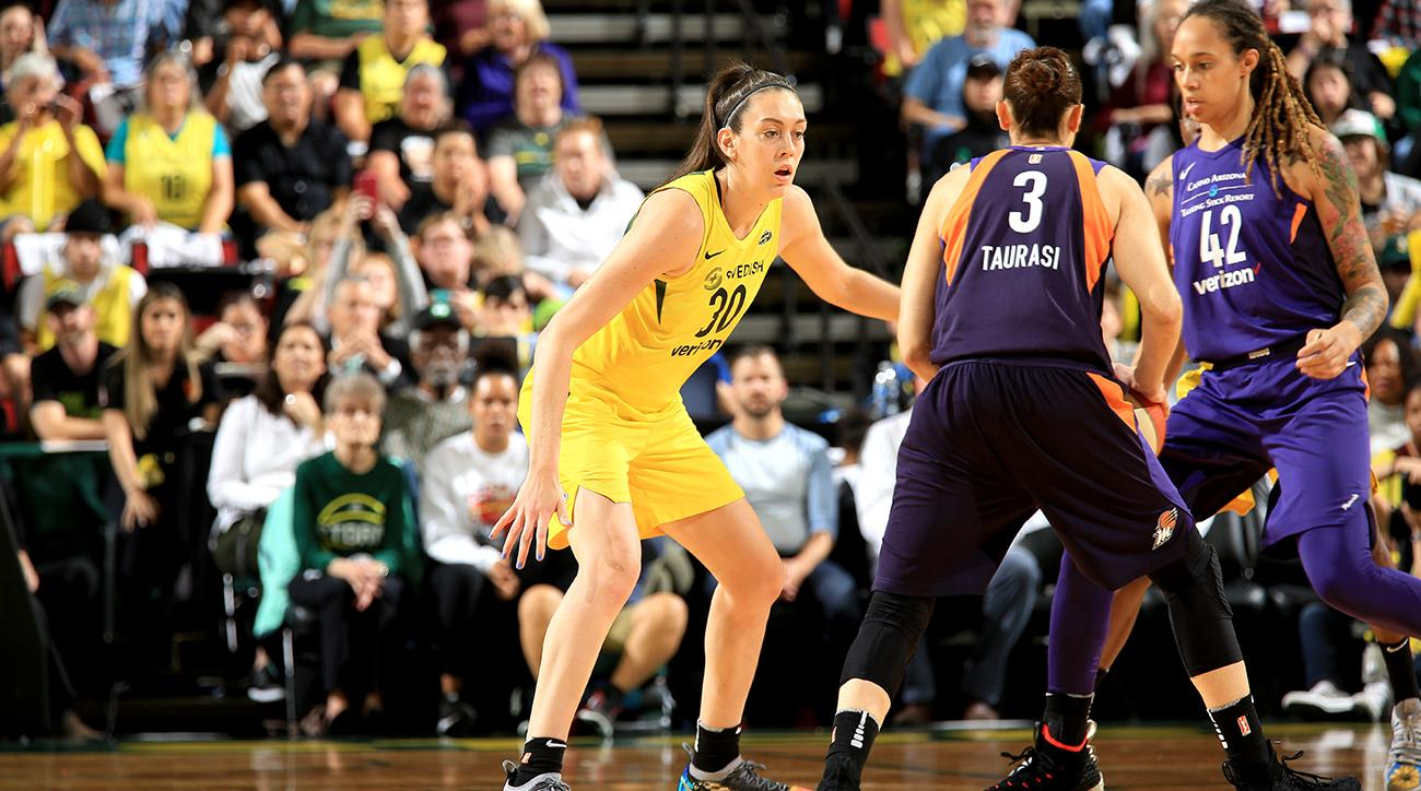 Phoenix Mercury v Seattle Storm - Game One
