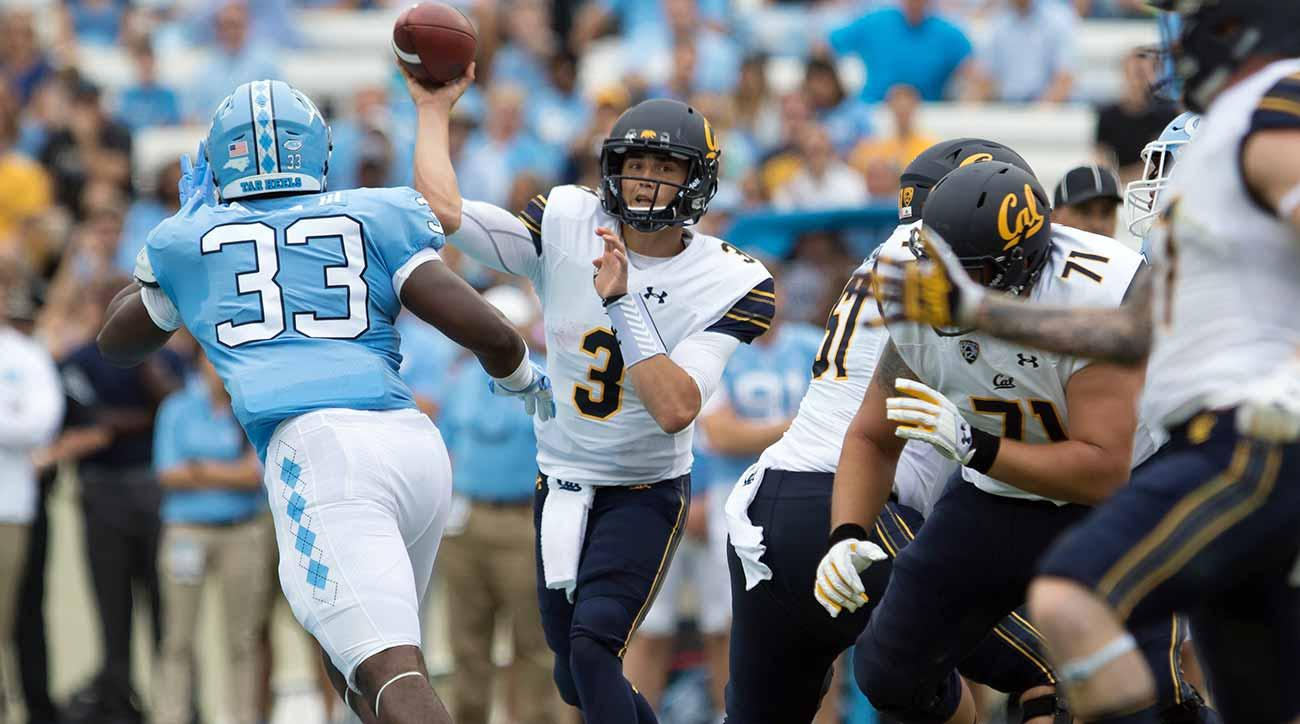 College football Week 1: Cal-UNC, Ole Miss-Texas Tech and other sneaky-good games