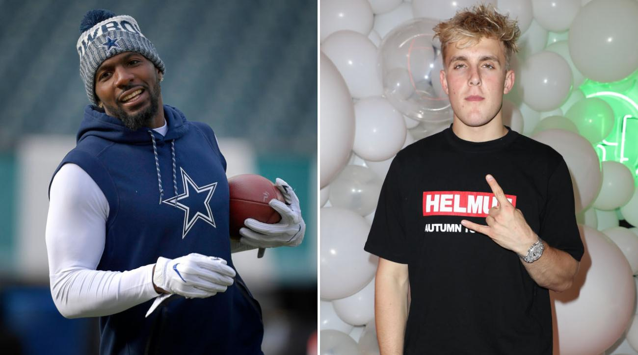 Dez Bryant Challenges Jake Paul To Boxing Match On Twitter