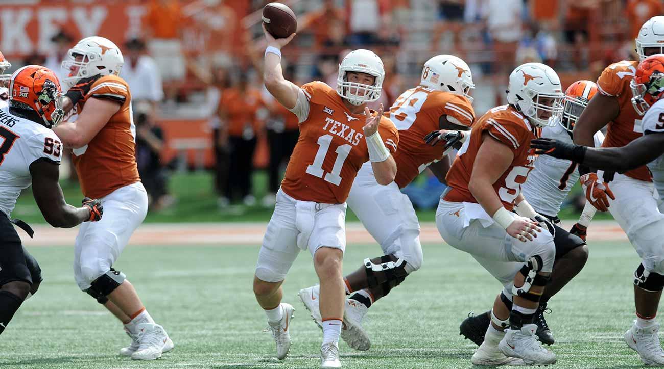 Sam Ehlinger looks to end Texas quarterbacks lost decade