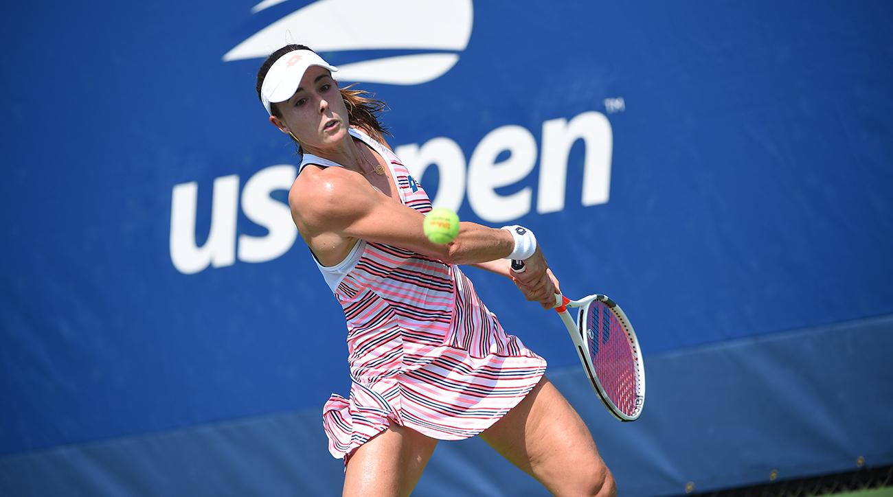 alize cornet penalized for taking off shirt at u s open si com