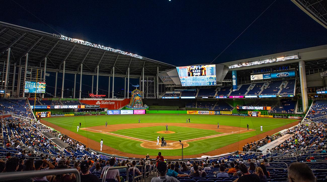 Let's Get Loud, Marlins, marlins park