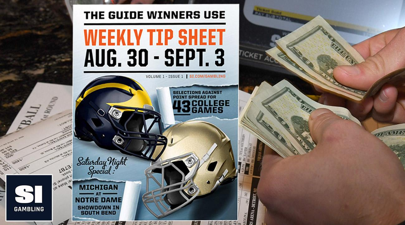 Vegas sportsbook and SI's weekly tip guide