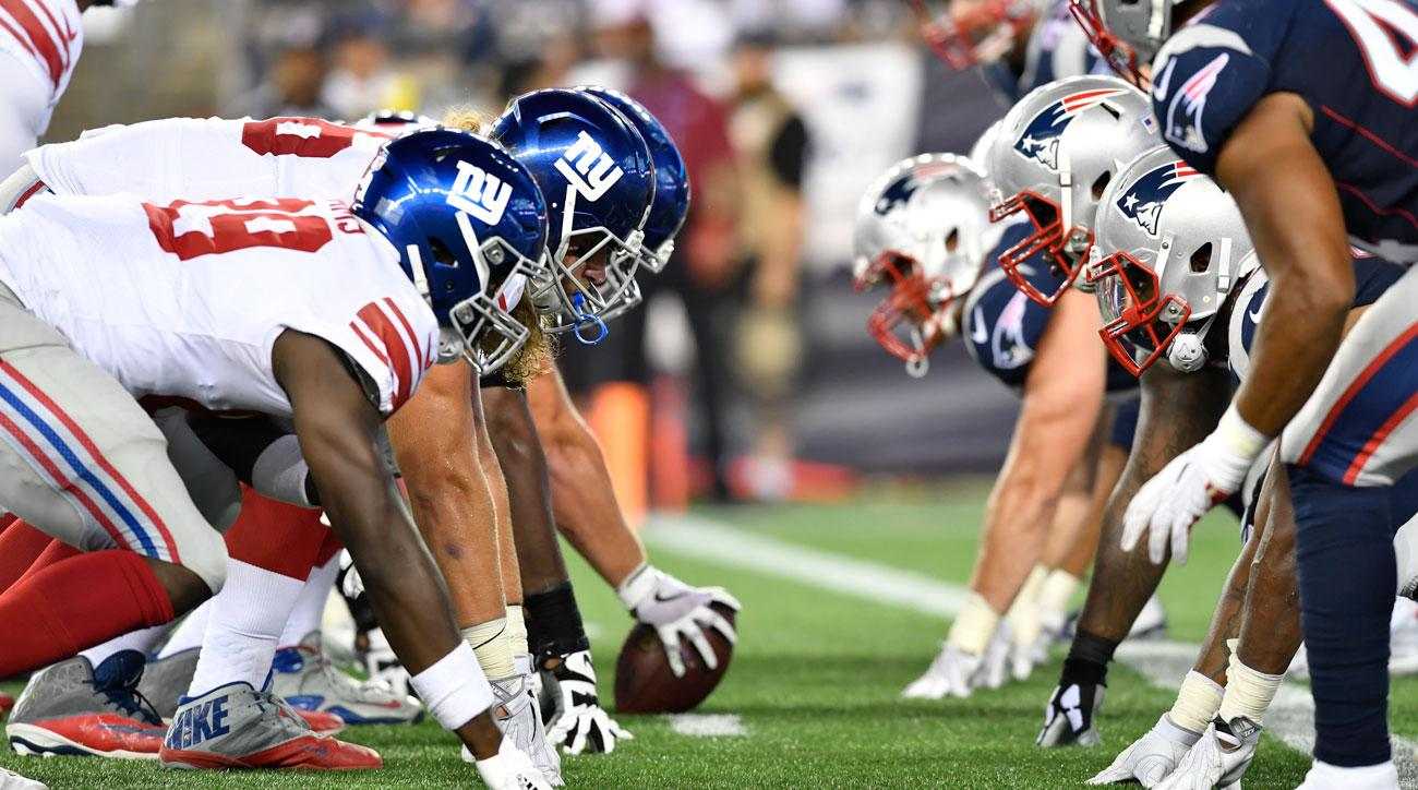 giants vs. patriots live stream: watch online, tv channel, time | si