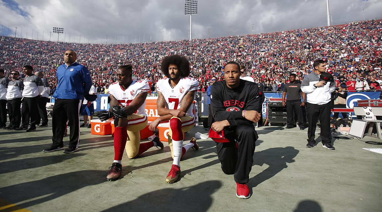 Nike teams with Colin Kaepernick in ad campaign National Football League  will hate