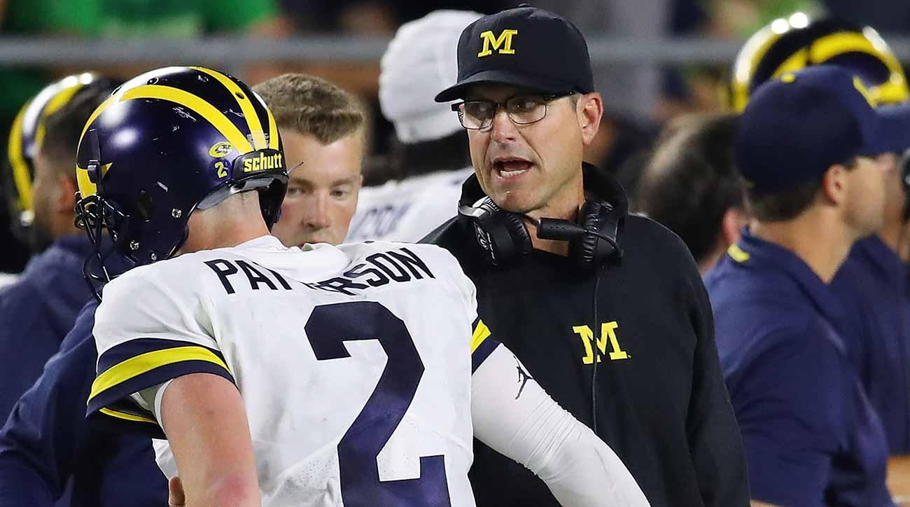 Jim Harbaugh, Michigan regroup after loss to Notre Dame