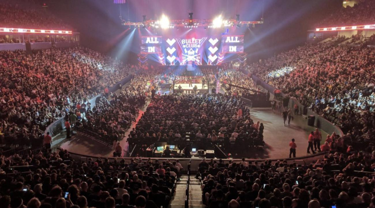All In attendance: 11,263 tickets sold for indie wrestling show