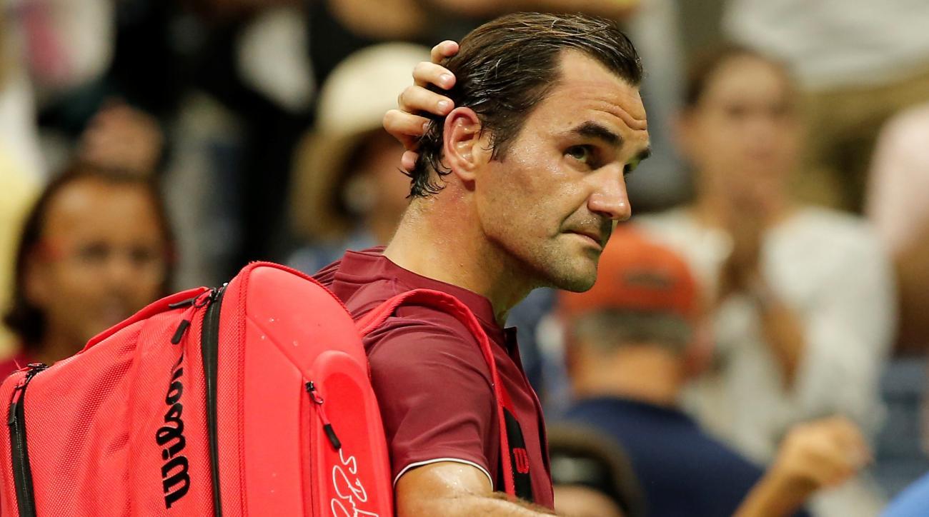 Roger Federer John Millman US Open Arthur Ashe Stadium